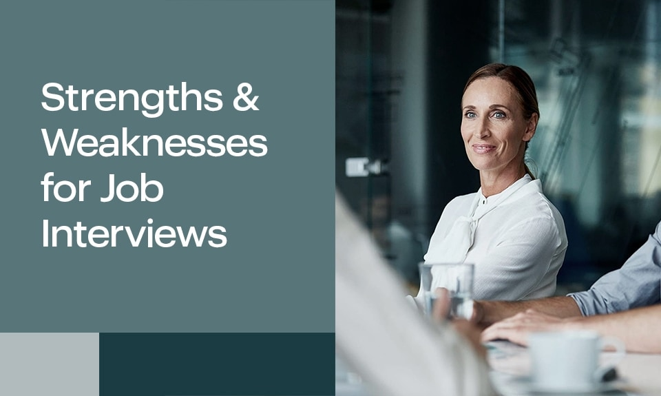 Strengths And Weaknesses For Job Interviews1